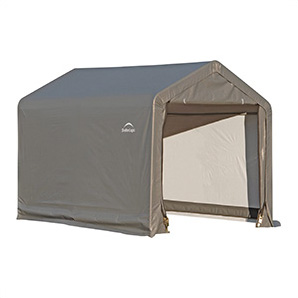 6x6 Shed-in-a-box With 1-3/8 Frame (gray Cover)