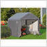 """6x6 Shed-In-A-Box with 1-3/8"""" Frame (Gray Cover)"""