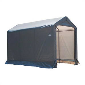 6x10 Shed-in-a-box With 1-3/8 Frame (gray Cover)
