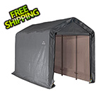 "ShelterLogic 6x12 Shed-In-A-Box with 1-3/8"" Frame (Gray Cover)"