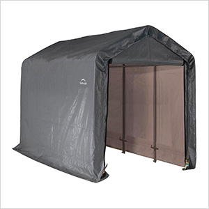"""6x12 Shed-In-A-Box with 1-3/8"""" Frame (Gray Cover)"""