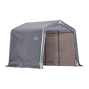 8x8 Shed-in-a-box With 1-3/8 Frame (gray Cover)