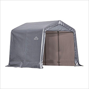 """8x8 Shed-In-A-Box with 1-3/8"""" Frame (Gray Cover)"""