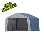 "ShelterLogic 12x12 Shed-In-A-Box with 1-3/8"" Frame (Gray Cover)"