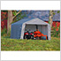 "12x12 Shed-In-A-Box with 1-3/8"" Frame (Gray Cover)"
