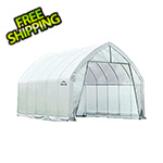 ShelterLogic 13x20 Heavy Duty Translucent Greenhouse with Arch Style Steel Frame