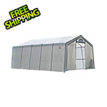 "ShelterLogic 12x20 Heavy Duty Translucent Greenhouse with Arch Style 1-5/8"" Frame"