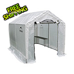 ShelterLogic 6x8 GrowIt Translucent Backyard Greenhouse