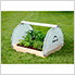 4x4 GrowIt Round Raised Bed Greenhouse with Fully Closable Cover