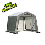 ShelterLogic 8x8x8 ShelterCoat Peak Style Shelter (Gray Cover)