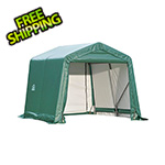 ShelterLogic 8x8x8 ShelterCoat Peak Style Shelter (Green Cover)