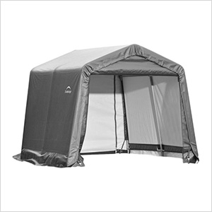 10x12x8 ShelterCoat Peak Style Shelter (Gray Cover)