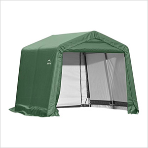 11x8x10 ShelterCoat Peak Style Shelter (Green Cover)
