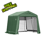 ShelterLogic 11x12x10 ShelterCoat Peak Style Shelter (Green Cover)