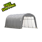 ShelterLogic 13x20x10 ShelterCoat Round Style Shelter (Gray Cover)