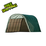 ShelterLogic 13x20x10 ShelterCoat Round Style Shelter (Green Cover)