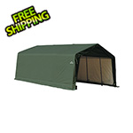 ShelterLogic 13x20x10 ShelterCoat Peak Style Shelter (Green Cover)