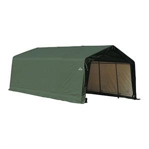 13x20x10 Sheltercoat Peak Style Shelter (green Cover)