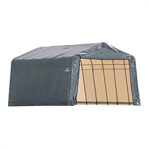13x24x10 Sheltercoat Peak Style Shelter (gray Cover)