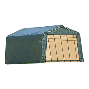 13x24x10 Sheltercoat Peak Style Shelter (green Cover)