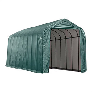 15x28x12 Sheltercoat Peak Style Shelter (green Cover)