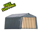 ShelterLogic 13x28x8 ShelterCoat Peak Style Shelter (Gray Cover)