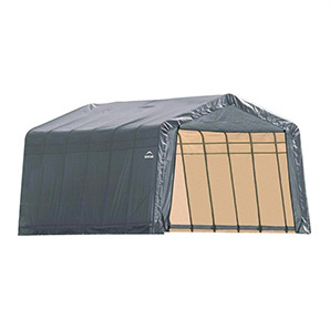 13x28x8 Sheltercoat Peak Style Shelter (gray Cover)