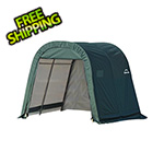 ShelterLogic 8x8x8 ShelterCoat Round Style Shelter (Green Cover)