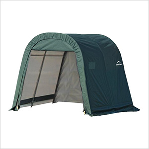 8x8x8 ShelterCoat Round Style Shelter (Green Cover)
