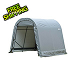 ShelterLogic 8x16x8 ShelterCoat Round Style Shelter (Gray Cover)