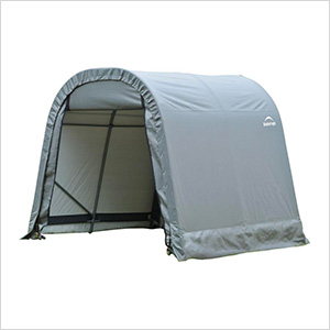 8x16x8 ShelterCoat Round Style Shelter (Gray Cover)