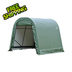 ShelterLogic 8x16x8 ShelterCoat Round Style Shelter (Green Cover)