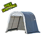 ShelterLogic 10x8x8 ShelterCoat Round Style Shelter (Gray Cover)