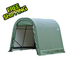 ShelterLogic 10x8x8 ShelterCoat Round Style Shelter (Green Cover)