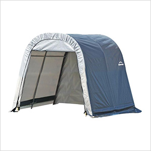 10x16x8 ShelterCoat Round Style Shelter (Gray Cover)