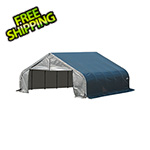 ShelterLogic 22x20x11 ShelterCoat Peak Style Shelter (Gray Cover)
