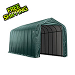 ShelterLogic 16x36x16 ShelterCoat Peak Style Shelter (Green Cover)