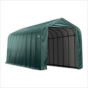 16x36x16 ShelterCoat Peak Style Shelter (Green Cover)