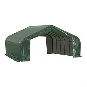 22x20x13 ShelterCoat Peak Style Shelter (Green Cover)