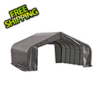ShelterLogic 22x28x13 ShelterCoat Peak Style Shelter (Gray Cover)