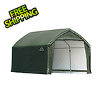 ShelterLogic 12x10x9 Accelaframe Garage (Green Cover)
