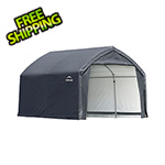 ShelterLogic 12x10x9 Accelaframe Garage (Gray Cover)