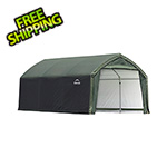 ShelterLogic 12x15x9 Accelaframe Garage (Green Cover)