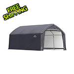 ShelterLogic 12x15x9 Accelaframe Garage (Gray Cover)