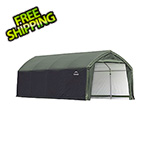 ShelterLogic 12x20x9 Accelaframe Garage (Green Cover)