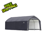 ShelterLogic 12x20x9 Accelaframe Garage (Gray Cover)