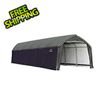 ShelterLogic 12x30x9 Accelaframe Garage (Green Cover)