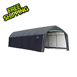 ShelterLogic 12x30x9 Accelaframe Garage (Gray Cover)