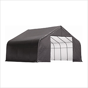 28x20x16 ShelterCoat Peak Style Shelter (Gray Cover)