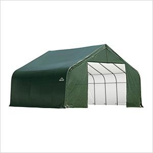 28x20x16 ShelterCoat Peak Style Shelter (Green Cover)